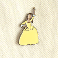 Hamilton Peggy Schuyler Sisters Soft Enamel Pin - Jewelry - Birthday Gift