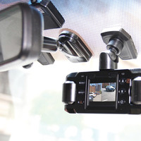 Front and Rear Recording Dash Cam @ Sharper Image