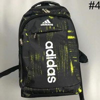 ADIDAS 2018 summer men and women camouflage embroidery logo backpack