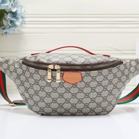 Coach casual printed waist bag chest bag shoulder bag