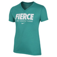 """Nike """"Fierce is My Middle Name"""" Girls' T-Shirt"""