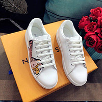 Prada Women Leather Sneakers #2722