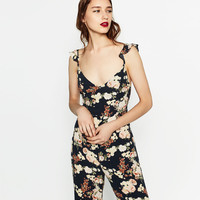 LONG PRINTED JUMPSUITDETAILS