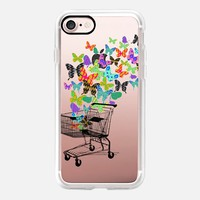 Casetify iPhone 7 Classic Grip Case - Urban Butterflies by Kanika Mathur #iPhone 7