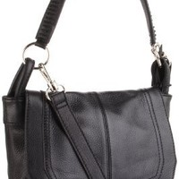 The SAK Silverlake Messenger Bag,Black,One Size