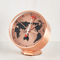 Have Time, Will Travel Alarm Clock | Mod Retro Vintage Wall Decor | ModCloth.com