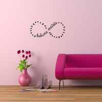 Wall Vinyl Sticker Decals Art Mural Hakuna Matata Words