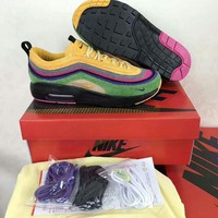Sean Wotherspoon x Nike Air Max 97 / 1 VF SW Hybrid Retro Sport Running Shoes