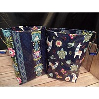 Car trash bag, reversible & reusable/car garbage bag/car accessory/litter bag/laminate/car organizer