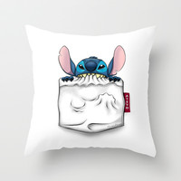 imPortable Stitch... Throw Pillow by Emiliano Morciano (Ateyo)