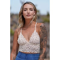 Eye Of The Sun Bralette - Ivory