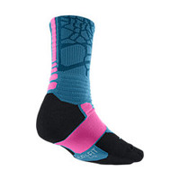 The LeBron Hyper Elite Crew Basketball Socks.