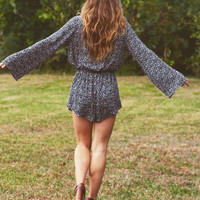Audrey Long Sleeve Romper