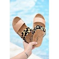Think About It Sandals - Leopard