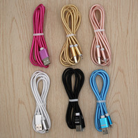 USB Cable Fast Charger Adapter Original USB Cable For iphone6 6s 7 7 plus iphone 5 5s ipad air2 Mobile Phone Cables for Android