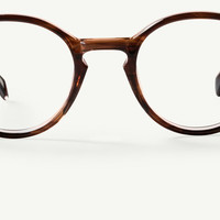 The Women's Beaumont Glasses in Maple Crystal Tortoise