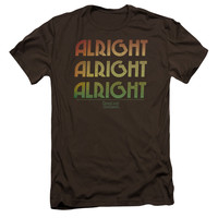 DAZED AND CONFUSED/ALRIGHT Z - S/S ADULT 30/1 - COFFEE - 2X - Coffee -