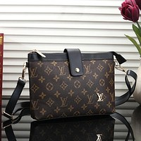 Louis Vuitton LV Women Leather Fashion Crossbody Shoulder Bag