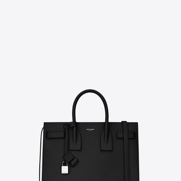 SAINT LAURENT ‎CLASSIC SMALL SAC DE JOUR IN SHINY CROCODILE EMBOSSED LEATHER ‎ | YSL.COM
