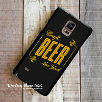 Craft Beer New York Samsung Galaxy Note 4 Case Cover for Note 3 Note 2 Case