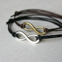 Infinity Bracelet / Infinity Anklet (24 colors to choose)