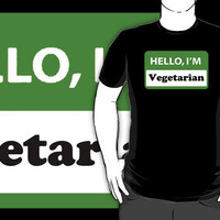 Hello, I'm Vegetarian by Alsvisions