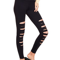Ultimate High Waist Front Slash Legging - PINK - Victoria's Secret