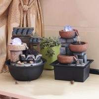 Creative Indoor Water Fountains Feng Shui Gift