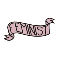 Feminist Banner Iron-On Patch