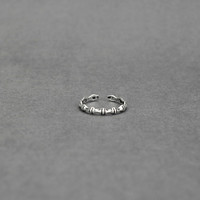 925 sterling silver silver bamboo ring ,a simple perfect gift !