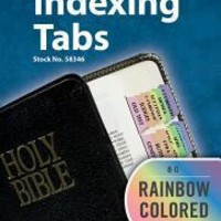 Rainbow Bible Indexing Tabs Old & New Testament : Tabbies : 9789900493464