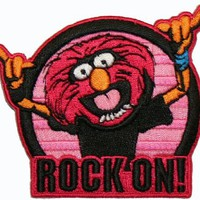 The Muppets Animal Rock On Embroidered Iron On Patch:Amazon:Everything Else