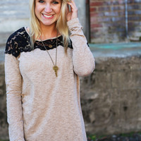 Love At First Lace {Light Mocha}