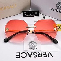 Versace Woman Men Fashion Summer Sun Shades Eyeglasses Glasses Sunglasses-6