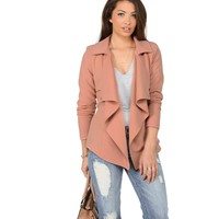 Blush What We Do Short Trench