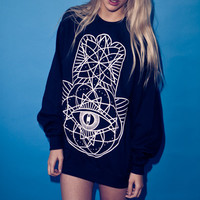 iamVibes Clothing — GEOMETRIC SWEATER
