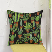 desert Plant Cushion Home&Car Decor Pillowcase Throw Cactus Pillows Home Decorative Cushion Housse De Coussin