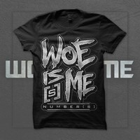 Woe, Is Me - Number[s] Logo Black : Rise Records