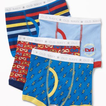Printed Boxer-Briefs 4-Pack for Toddler Boys | Old Navy