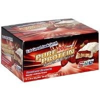 Pure Protein High Protein Double Layer Bar, Strawberry Shortcake, 6 Bars, 1.76 Ounces (Pack of 2)