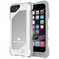 "Zerolemon Iphone 6 4.7"" Zeroshock 3500mah Rugged Battery Case (white)"