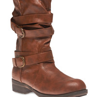 Multi Strap Mid-Calf Boots | Wet Seal
