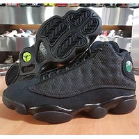 Nike Air Jordan 13 Jordan GS Black Cat AJ13 Men's and Women's Casual Sports Shoes
