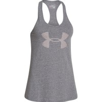 Under Armour Women's Big Logo Tri-Blend Graphic Tank Top - Dick's Sporting Goods