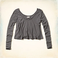 Avalon Place Easy Crop Tee