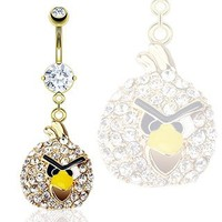 Angry Birds Belly Button Ring