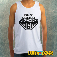 Pitch Perfect 2 Das Sound Machine DSM Clothing Tank Top For Mens