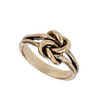 Gold Knot Ring - New In This Week  - New In