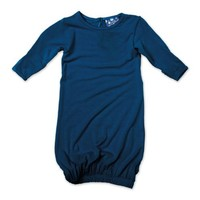 KicKee Pants Layette Gown, Twilight