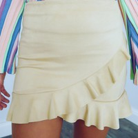 Into The Grove Skirt: Beige